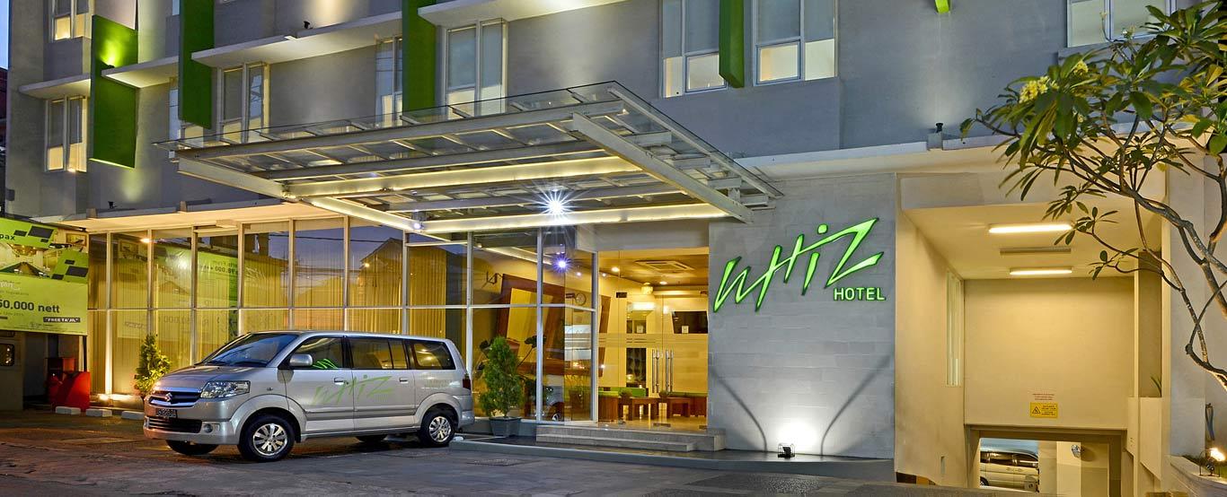 Facade Of Whiz Hotel Yogyakarta