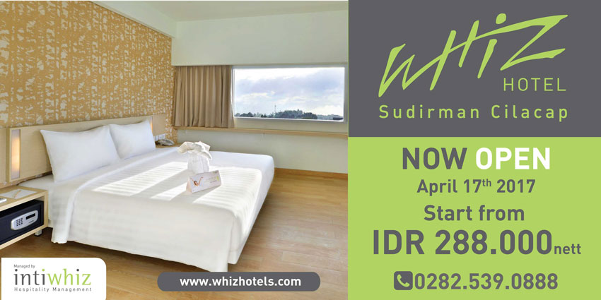 Now open Whiz Hotel Sudirman Cilacap