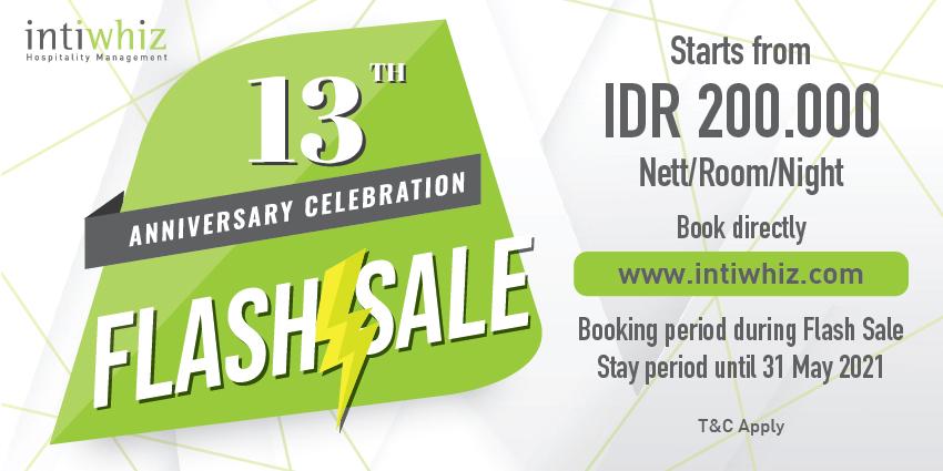 Anniversary Flash Sale